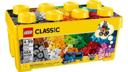 10696 - LEGO® Μεσαίο Κουτί με Τουβλάκια για Δημιουργίες