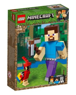 Minecraft BigFig Στηβ με παπαγάλο