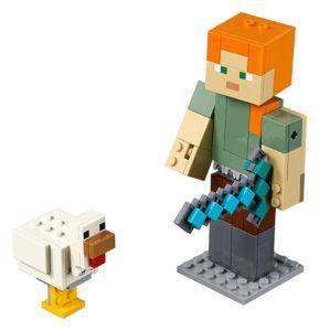 Minecraft BigFig ΄Αλεξ με κοτόπουλο