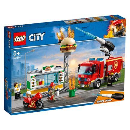 Διάσωση από την Πυρκαγιά στο Μπέργκερ Μπαρ