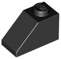 70707005 – Black slope 1×2