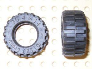 70707018 – Black tire 304×14