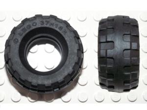 70707017 – Black tire 37x18r