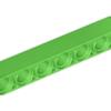 70707023 - Bright green technic liftarm 1x7 thick