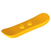 70707028 - Bright light orange minifigure utensil snowboard small