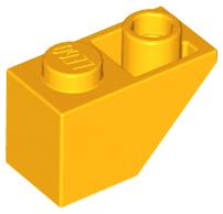 70707031 - Bright light orange slope inverted 45 2x1