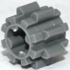 70707040 - Dark bluish gray technic gear 8 tooth type 2