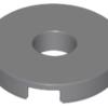 70707042 - Dark bluish gray tile round 2x2 with hole