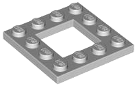 70707048 - Light bluish gray plate modified 4x4 with 2x2 cutout