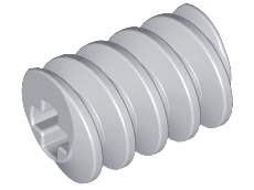 70707054 - Light bluish gray technic gear worm screw