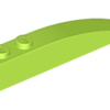 70707058 - Lime slope curved 6x1