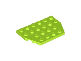 70707066 - Lime wedge plate 4x6 cut corners