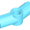 70707073 - Medium azure technic axle and pin connector angled 157 degrees