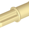 70707079 - Tan technic axle pin without friction ridges lengthwise