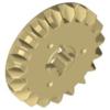 70707080 - Tan technic gear 20 tooth bevel