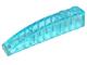 70707084 - Trans light blue slope curved 6x1