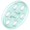 70707085 - Trans light blue technic wedge belt wheel pulley