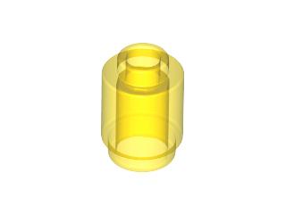 70707088 - Trans yellow brick round 1x1 open stud