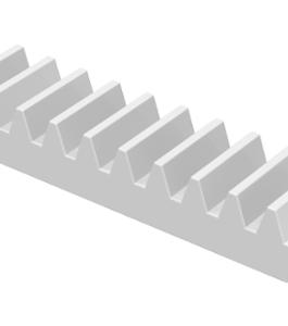 70707098 – White technic gear rack 1×4