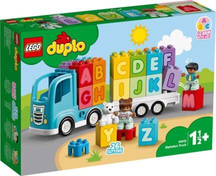 10915 - Φορτηγό με Αλφάβητο