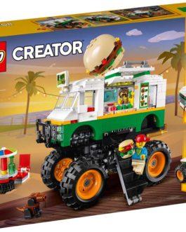 31104 – Monster Truck με Χάμπουργκερ