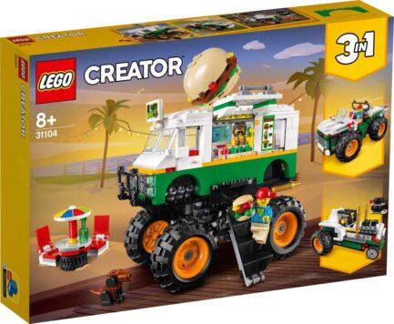 31104 - Monster Truck με Χάμπουργκερ