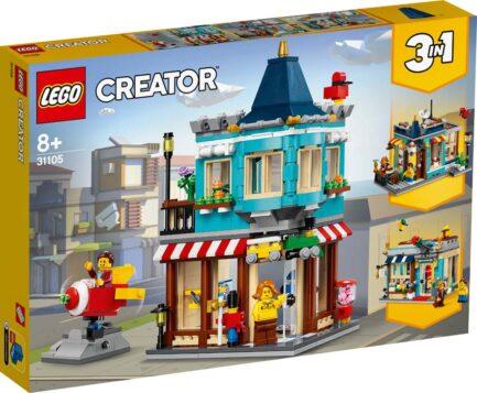 31105 - Κτίριο με Κατάστημα Παιχνιδιών