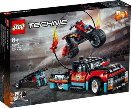 42106 - Φορτηγό & Μηχανή Ακροβατικών