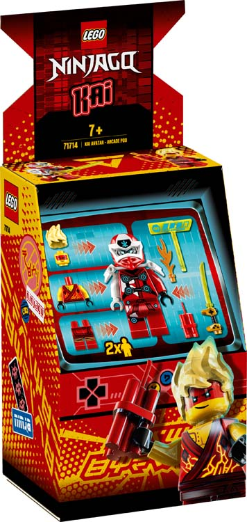 71714 - Άβαταρ Κάι - Παιχνιδομηχανή Arcade