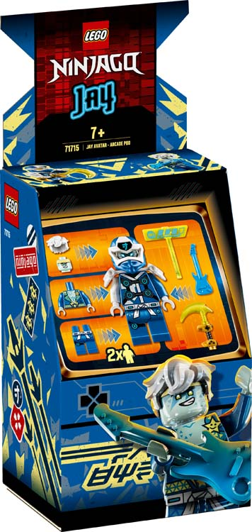 71715 - Άβαταρ Τζέι - Παιχνιδομηχανή Arcade
