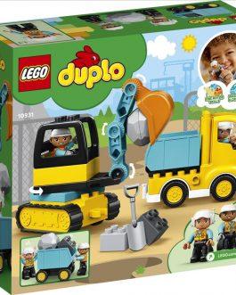 10931 – Φορτηγό & Ερπυστριοφόρος Εκσκαφέας