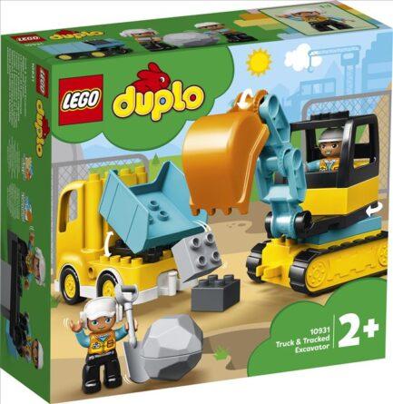 10931 - Φορτηγό & Ερπυστριοφόρος Εκσκαφέας