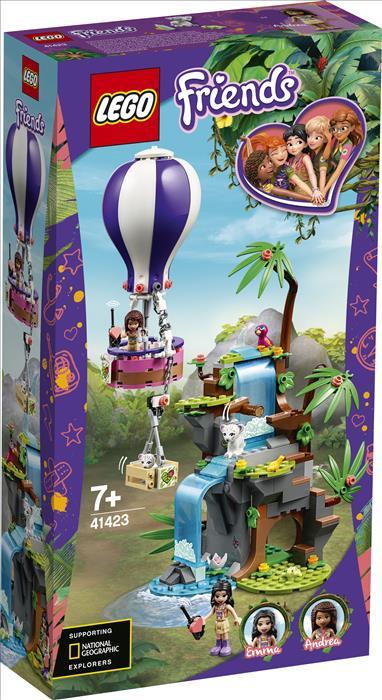 41423 - Διάσωση Τίγρης με Αερόστατο στη Ζούγκλα