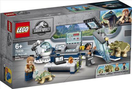 75939 - Εργαστήριο του Δρα Γου: Η Απόδραση των Μωρών Δεινοσαύρων
