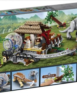 75941 – Indominus Rex εναντίον Αγκυλόσαυρου