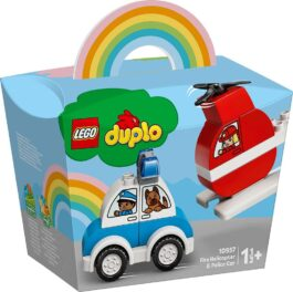 10957 – Fire Helicopter & Police Car
