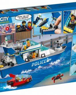 60277 – Police Patrol Boat