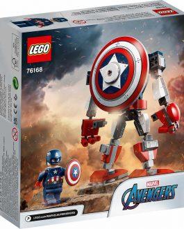 76168 – Captain America Mech Armor