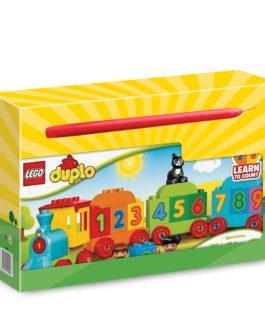 10847 – Λαμπάδα LEGO Duplo My First Number Train