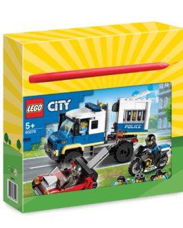 60276 – Λαμπάδα LEGO City Police Prisoner Transport