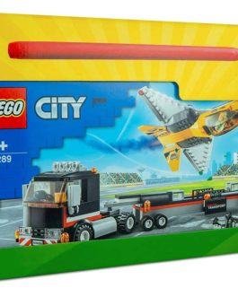 60289  – Λαμπάδα LEGO City Airshow Jet Transporter