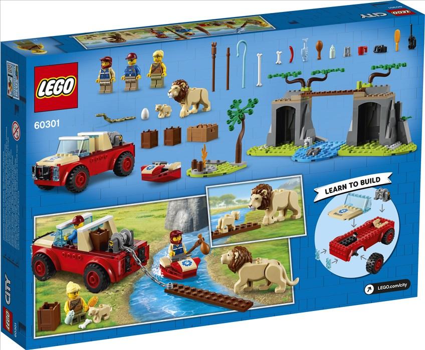 60301 – Εκτός Δρόμου Όχημα Διάσωσης 'γριων Ζώων
