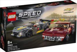 76903 – Chevrolet Corvette C8.R Race Car and 1968 Chevrolet Corvette